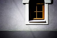 Close_up of the window of a house