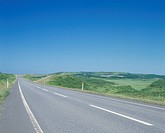 A Road And Blue Sky