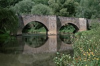 A River And The Stone_Made Bridge In France