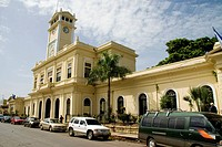 El  Salvador.Area of Oriente.Usulut&#225;n city.City Hall
