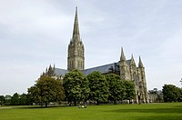 Salisbury Cathedral Salisbury Wiltshire England