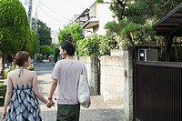 Young couple on street (thumbnail)