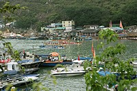 Dragon Boat race, Po Toi Island, Hong Kong