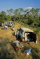 CAMPING ON SAFARI. Kruger National Park, South Africa