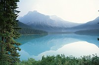 The Canadian Rockies And Emerald Lake
