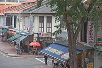 Indigenous architecture in Katong area, Singapore