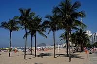 Beach, Copacabana, Rio de Janeiro, Brazil