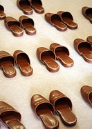 Slippers for visitors, Honshu, Japan