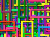 Multi_Colored Rectangles