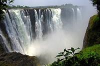 Victoria Waterfalls, Victoria Falls, Zimbabwe