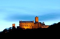 UNESCO World Heritage Site Wartburg Thuringia