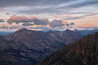 Refuge du Pelvoux 2700m, Provence-Alpes-Cote de Azur, Hautes-Alpes, France