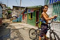 Igarapé, Stilts, Amazônia, Manaus, Amazonas, Brazil