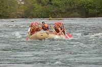 Rafting, Rio Novo, Jalapão, Tocantins, Brazil