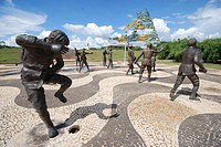 Square, Memorial 18 do Forte, Palmas, Tocantins, Brazil