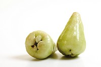 Green Java apples (Syzygium samarangense)