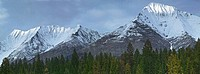 The Mitchell Range, Kootenay National Park, British Columbia, Canada