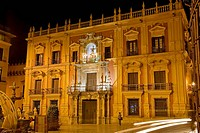 Archbishop's Palace, Malaga, Andalucia, Spain
