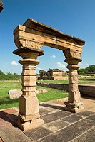 Mallikarjuna temple in Aihole, Karnataka. Aihole, a tranquil village on the banks of the Malaprabha River, is acclaimed as the cradle of Hindu temple ...