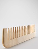 Close_Up of Wooden Comb