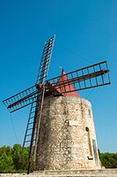 WINDMILL OF DAUDET FONTVIEILLE PROVENCE FRANCE