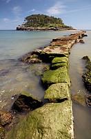 San Nicolas (Garraitz) island, Lekeitio, Vizcaya (Bizkaia), Basque Country, Spain