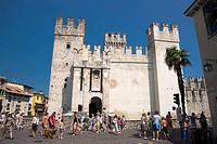 Rocca Scaligera, Sirmione. Province of Brescia, Lombardy, Italy