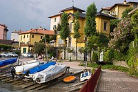 Varenna, Lake Como. Province of Lecco, Lombardy, Italy