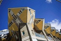 Cubic Houses Kubuswoning by Piet Blom, Rotterdam, The Netherlands