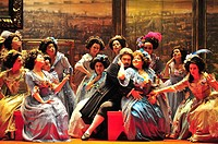 'Pan y Toros', zarzuela by Francisco Asenjo Barbieri, directed by José Fabra. Teatro Municipal, Santiago, Chile (November 11, 2008)