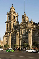 Catedral Metropolitana, the largest colonial cathedral in the Americas, Mexico City, Mexico