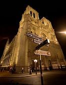 Notre Dame de Paris, Ile de la Cité, Paris, France