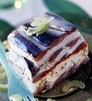 Sardine and fromage blanc terrine