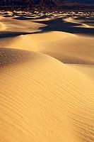 Mesquite Flats Sand Dunes, sand dunes, desert area, Death Valley National Park, California, USA
