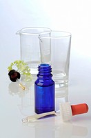 Pipet bottle: homeopathic remedy