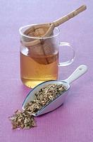 Natural healing: herb tea