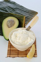 Avocado_Yoghurt mask