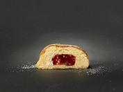 Doughnut with powdered sugar