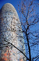 Agbar tower, Jean Nouver architech, Barcelona, Spain