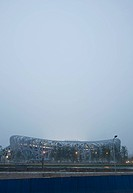 China. Beijing. Olympic Park. National Olympic Stadium, The Bird's Nest