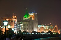 The bund at night