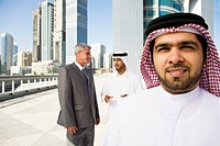 Businessmen in dubai