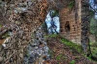 monte sant´angelo, temple, monastery, lazio, italy