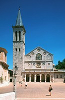 europe, italy, umbria, spoleto, cathedral
