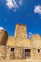 Castle, Miranda del Castañar. Las Batuecas, Sierra de Francia Natural Park, Salamanca province, Castilla-Leon, Spain