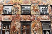 ´Gemaltes Haus´ (painted house) in Graz, Styria, Austria