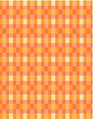 An orange and yellow retro checked pattern