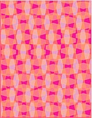 Purple and pink geometric pattern overlays
