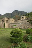 Garden near a palace, Pari Mahal, Srinagar, Jammu And Kashmir, India
