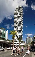 The Wave skyscraper -- SIlver medal winner in Emporis 2006 skyscraper award, Surfers Paradise, Gold Coast CIty, Queensland, Australia, 2008